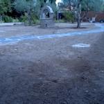 Jardin antes de los servicios de serlingo