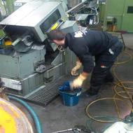 Limpieza maquinaria industrial Barcelona
