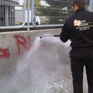Eliminació de grafitis