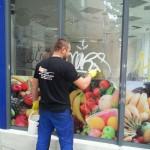 Limpieza de graffities