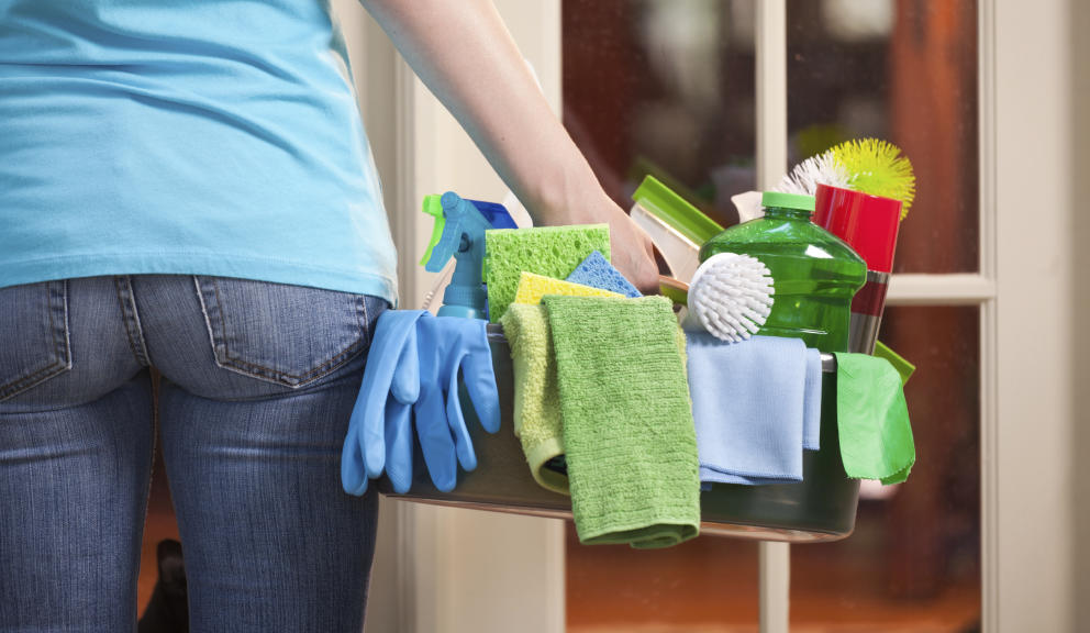 limpiar la casa