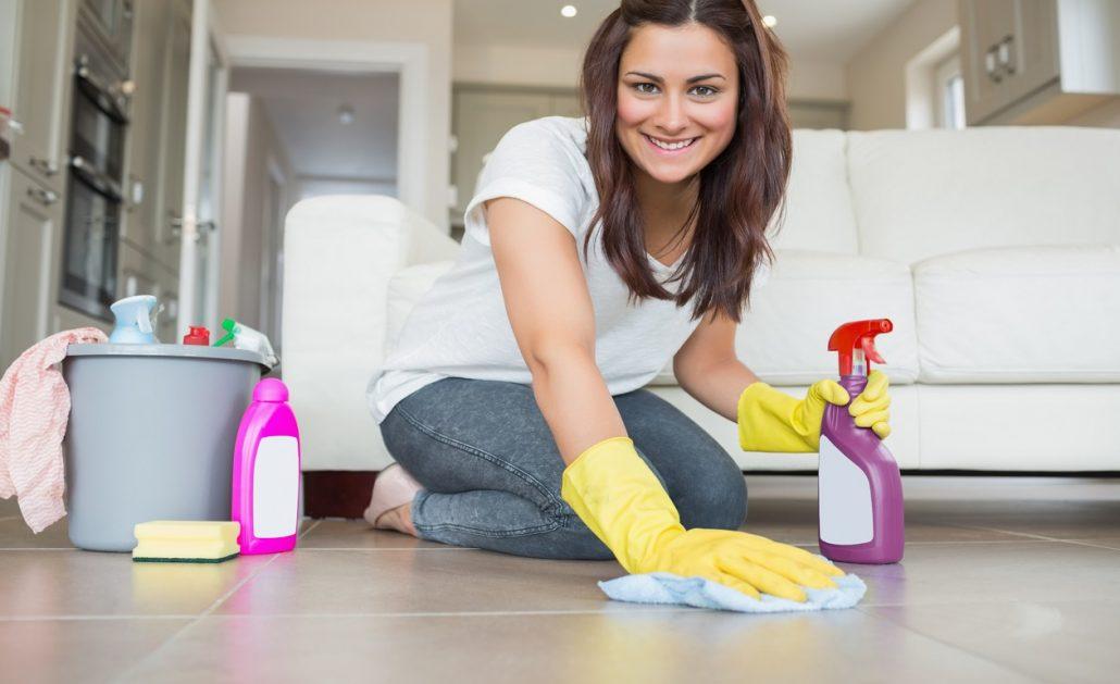 Limpiar la casa después del verano