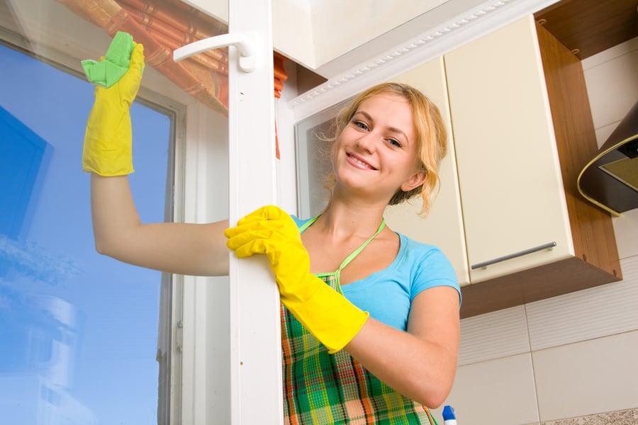 limpiar los rincones de la casa