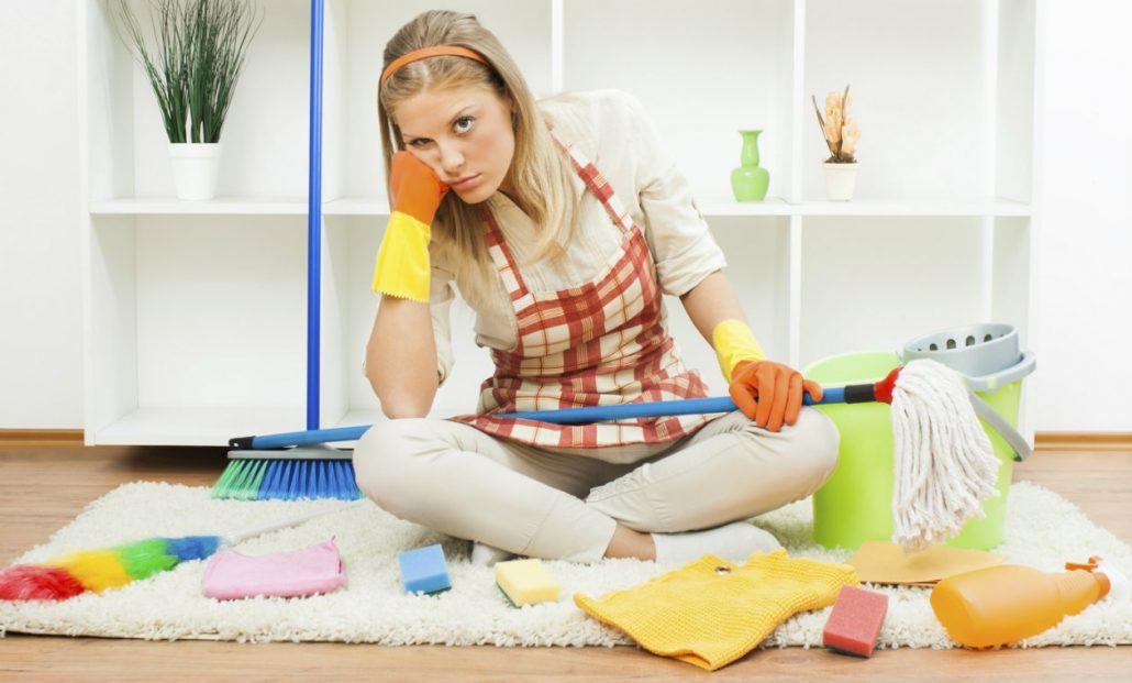 limpiar la casa después de Navidad