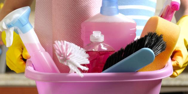 productos necesarios para una limpieza en profundidad