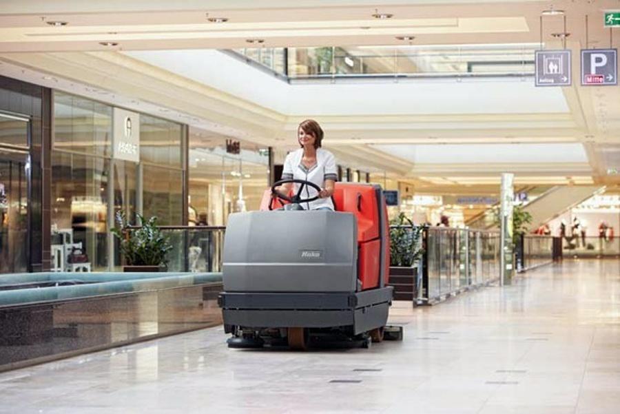limpieza en grandes superficies comerciales